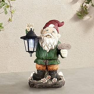 John Timberland Welcome Gnome with Lantern 16