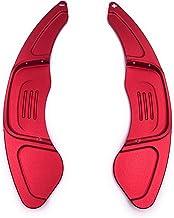 H-Customs Levas En Volante Dsg levas de cambio Shift Paddle Golf 7 solo GTI R GTD Polo Gti 18 aluminio anodizado RED