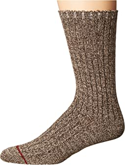 Classic Heather Rib Crew Socks
