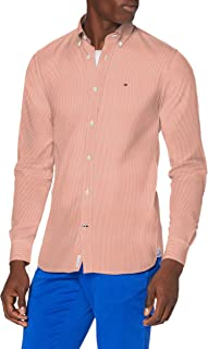 Tommy Hilfiger Peached Soft Stripe Shirt Camisa para Hombre