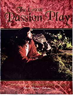 1994 - The Great Passion Play Program - America's #1 Attended Outdoor Drama - OOP