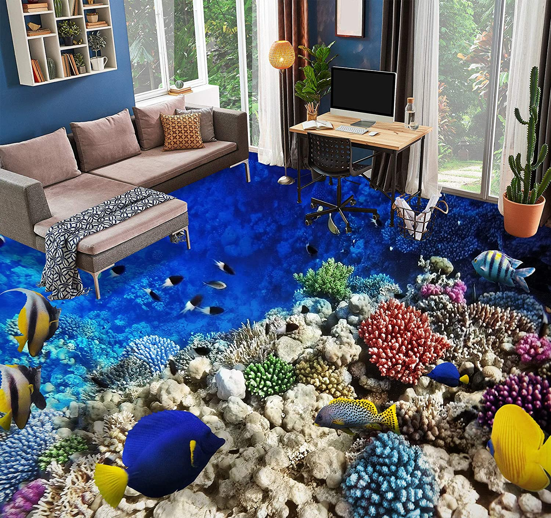 AJ WALLPAPER 3D Coral Stone 1461 NEW before selling ☆ Wallpaper Floor Sales Wall Murals Pri