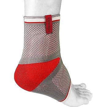 Ankle Anti Rotation AFO L Black//Gray UFEELGOOD ACAB13 ORTONYX Planar Fasciitis Night Splint Foot-Guard Support Brace