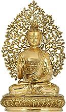 Superfine Gautam Buddha Preaching - Brass Statue