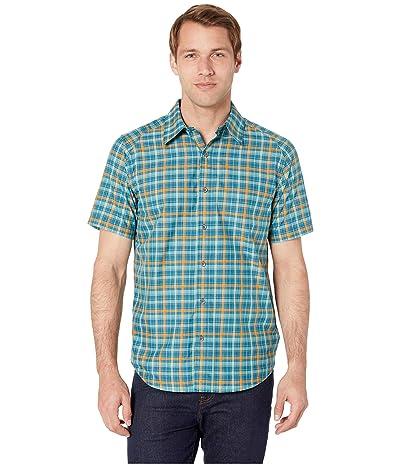 Marmot Agrozonda Short Sleeve Shirt (Denim) Men