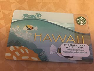Starbucks Hawaii Limited Edition Hologram Gift Card 2014 NEW **Just Released**