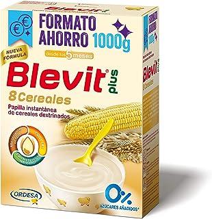 comprar comparacion Blevit Plus 8 Cereales, 1 unidad 1000 gr. Cereales para bebé. Apartir de los 5 meses.
