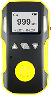 Carbon Monoxide CO Meter by Forensics | Professional Series | Dust & Explosion Proof | USB Recharge | Sound, Light and Vibration Alarms | 0-1000 ppm |