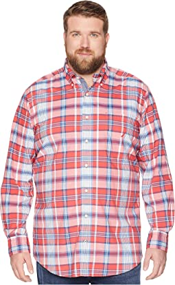 Big & Tall Casual Plaid Shirt