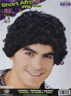 Inc - Disco Short Afro Adult Wig