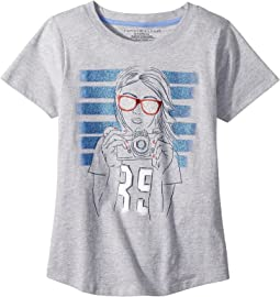 Tommy Hilfiger Kids - New Tee (Big Kids)