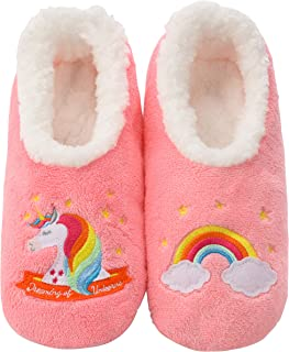 Pairables Womens Slippers - House Slippers - Unicorn