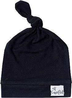 newborn top knot hat