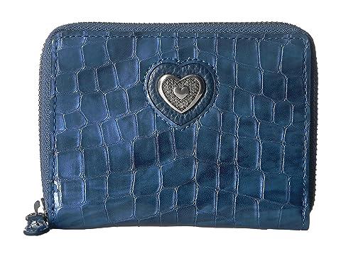 corazón francés Cartera azul Bellissimo mediana Brighton WUY8qwg0