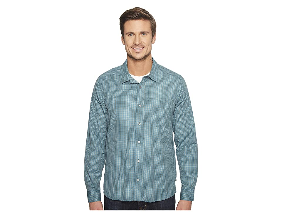 Toad&Co Debug Quick-Dry Long Sleeve Shirt (Hydro) Men