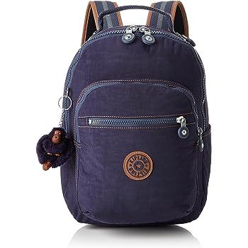 Kipling SEOUL Go Sac à dos avec ordinateur portable Protection en Vrai Jeans RRP £ 89