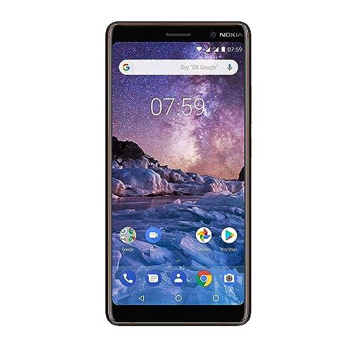 Nokia 7 Plus Smartphone (Noir /Cuivre)