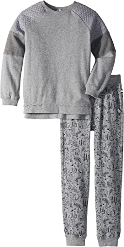 Splendid Littles - Mixed Fabric Pants Set (Little Kids/Big Kids)