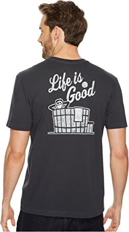 Hot Tub Life is Good® Pocket Crusher Tee