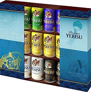 【EC限定/遅れてごめんね父の日/ギフト】サッポロ ヱビス 5種12本 オリジナルギフト YPV3DEC [ 国産ビール 5.5 日本 350ml×12本 ]