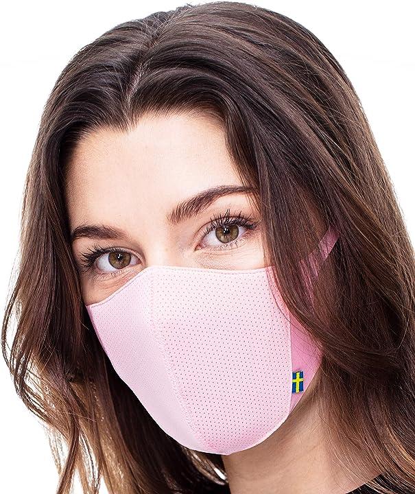 Mascherina airinum lite air mask lavabile con filtri a carbone attivo sostituibili e comodi elastici B08RNTY5R8