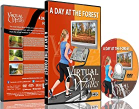 Virtual Walks - A Day At the Forest for Indoor Walking, Treadmill and Cycling Workouts