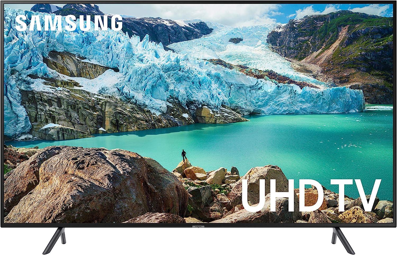 Amazon Com Samsung Un65ru7100fxza Flat 65 Inch 4k Uhd 7 Series Ultra Hd Smart Tv With Hdr And Alexa Compatibility 2019 Model Electronics
