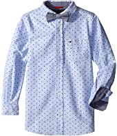 Tommy Hilfiger Kids - Crazy Dot Shirt with Bow Tie (Toddler/Little Kids)