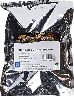 Especias Pedroza Té Rojo Yunnan Pu Erh - 2 Paquetes de 250 gr - Total: 500 gr