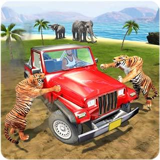 Safari Animal Offroad Jeep Escape Survival Mission