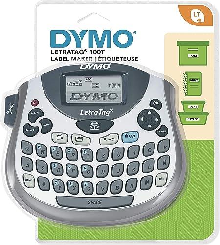 Dymo LT S0758370 Letra Tag - 100T, Étiqueteuse Électronique