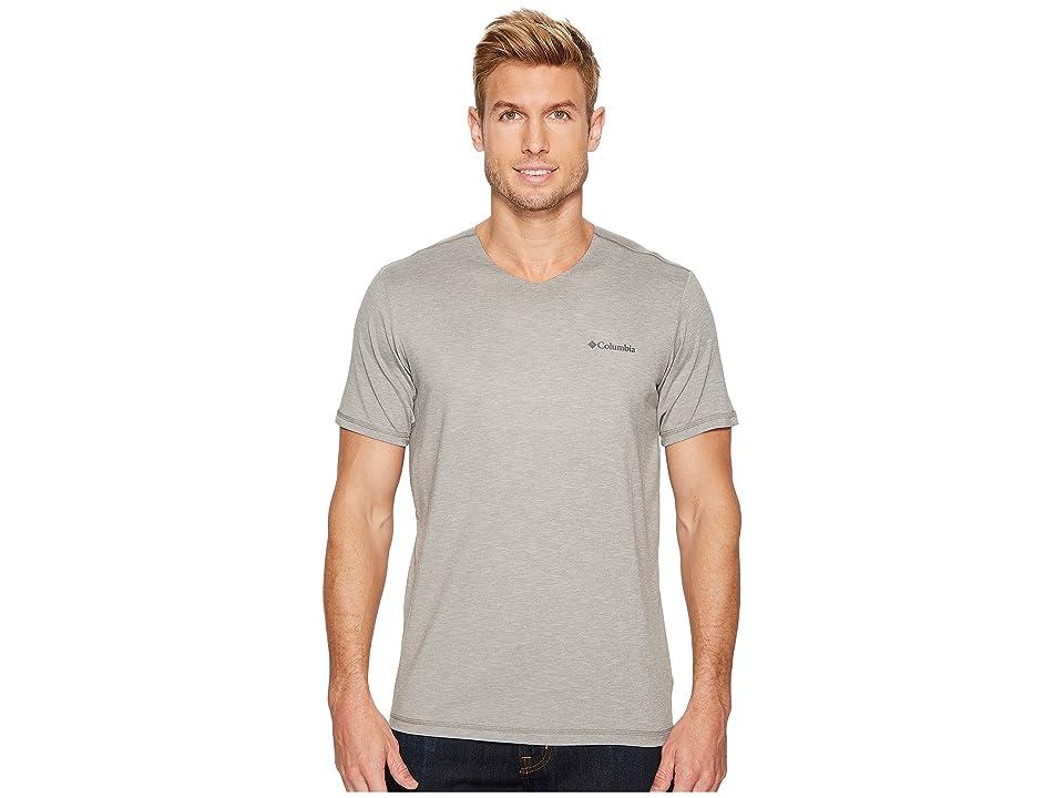 Columbia Tech Trail V-Neck Shirt (Boulder) Men