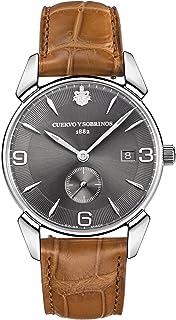 [クエルボ・イ・ソブリノス]Cuervo y Sobrinos 腕時計 紳士用 スモールセコンド 3191-1VGS メンズ 【正規輸入品】
