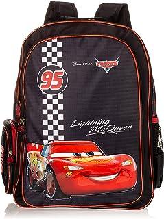حقيبة ظهر مدرسية من ديزني كارز للاولاد - اسود