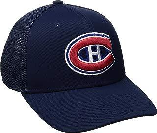 NHL Montreal Canadiens Men's SP17 Trucker Structured Flex Cap, Navy, Small/Medium
