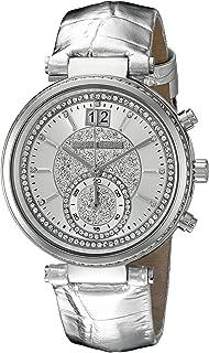 Michael Kors Women's Sawyer Silver-Tone Watch MK2443