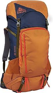 Kelty Asher 55 Liter Backpack, Men's and Women's Hiking, Backpacking, Travel Pack (2021), Golden Oak