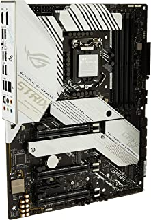 ASUS ROG Strix Z490-A Gaming Z490 LGA 1200(Intel® 10th Gen) ATX White Scheme Gaming Motherboard (12+2 Power Stages, DDR4 4...
