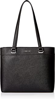 Mercy Saffiano Leather Organizational North/South Tote