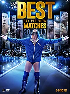 WWE: Best Pay-Per-View Matches 2013 DVD