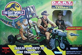 Hasbro The Lost World Jurassic Park~D.A.R.T. with Roland Tembo