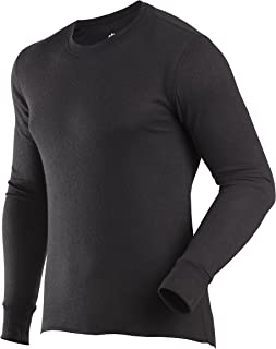 ColdPruf Men's Basic Dual Layer Long Sleeve Crew Neck Base Layer Top