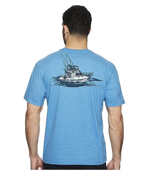 Tee Short Waterman Tuna Sleeve Charter Quiksilver q8z0SOnw