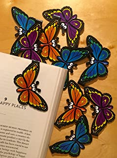 Butterfly Bookmarks (Set of 10)