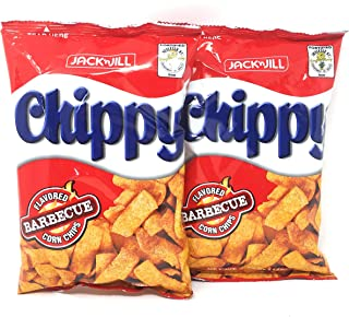 Jack n Jill Chippy Barbecue Flavored Corn Chips, Net Wt 3.88oz (110g), 2 Pack