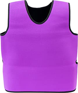 Special Supplies Sensory Compression Vest Deep Pressure Comfort for Autism, Hyperactivity, Mood Processing Disorders, Breathable, Form-Fitting, Kids and Adults (Purple, Medium 20