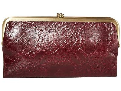 Hobo Lauren (Embossed Deep Plum) Clutch Handbags