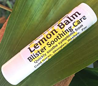 Urban ReLeaf Lemon Balm Blister Soothing Care Stick! Quickly Soothe Cold Sores Shingles Chicken Pox Rashes Spots Bug Bites...