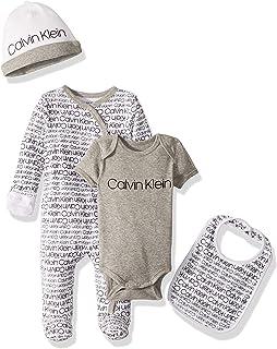 Calvin Klein Baby Girls' Infant Multipiece Gift Set
