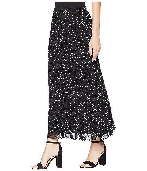 Dot CHAPS Polka Georgette Skirt Pleated aBAUq5B